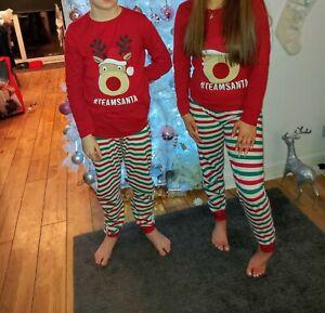2 Sets Of Christmas Pyjamas