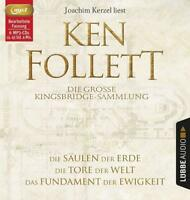 KEN FOLLETT - DIE GROßE KINGSBRIDGE-SAMMLUNG  6 MP3 CD NEW