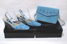 Jacques Vert Kitten 100% Leather Heels for Women