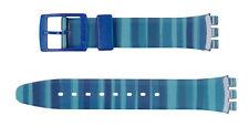 Original Swatch 17mm Kunststoff Armband Linajola AGN237 Neuware