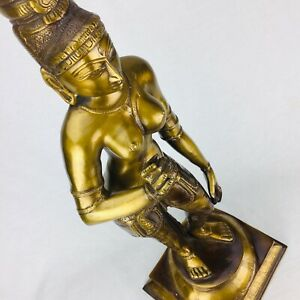 NEW Brass Traditional Tara Buddha Art Statue Brass Sculpture Vintage Finish