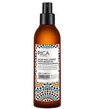 RICA Argan Oil After Wax Lotion 8.5 oz / 250 ml