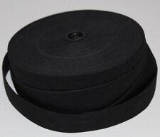1 m Gummiband 40 mm 4 cm Schwarz hohe Zugkraft gewebt Rock Kleid Gürtel