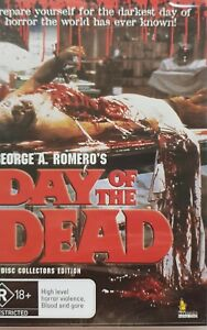Day of the Dead : George A Romero's classic film : Rated R : 2 Disc edition.