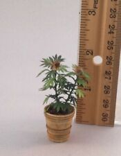Dollhouse miniature 1/12th scale PAPER Marijuana plant