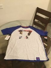NWT Chicago Cubs Kris Bryant Nike Dry Birch Heat Dri Fit Shirt Large New W/ Tags