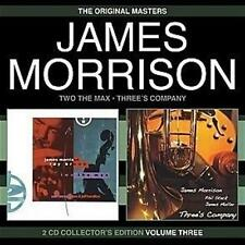JAMES MORRISON Two The Max & Three's Company 2CD NEW