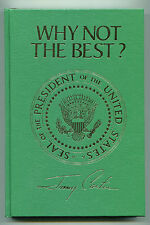 Jimmy Carter Why Not The Best? Signed Autographed Book 1977 Broadman Press w/COA