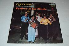 Queen Ida and the Bon Temps Band~Zydeco a La Mode~GNP Cresendo GNP 2112
