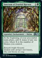 MTG x4 Sanctum of Fruitful Harvest Core Set 2021 UNC NM/M - PRESALE JULY 3rd