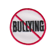 Anti-Bullying Embroidered Patch -New- Iron, Sew or Glue on!  - USA SELLER 721