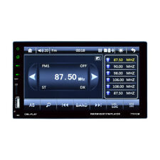 Car 12V Capacitive Touch Screen Radio Audio Stereo USB FM BT MP5 Player 7'' 2DIN