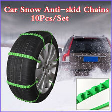 10Pcs Nylon Zip Tie Belt Strap Emergency Winter Tire Traction Car Snow Chain Alt
