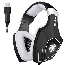Stereo Gaming Headset Sades OMGA60S Wired Gaming Headphones With USB MIC Noise