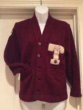 Vintage East-Tenn Cardigan Sweater Varsity Letterman Tennis Band Small