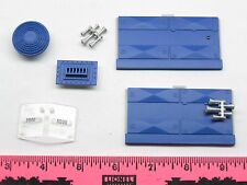Lionel parts ~ detail for Diesel engine ~ Blue 5500 ~ horn, battery cover, fan-