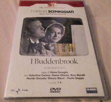 2 Dvd Rai I BUDDENBROOK di E.Fenoglio con Paolo Stoppa pUNTATE 1-4 NUOVO