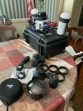 ikelite-canon complete underwater camera and lighting system