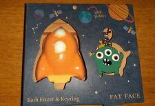 Bath fizzer and keyring BNIB Fat Face