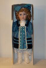 "Hand Crafted Porcelain Doll 1st Impressions Callie 24"" Original Box"