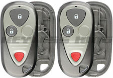 2 New Replacement Keyless Entry Remote Car Key Fob Shell Case For E4EG8D-444H-A