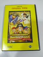 La Leyenda del Pirata Barbanegra Animacion - DVD Español Ingles Region 2 - AM