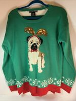Ugly Christmas Sweater Womens XL United States Sweaters