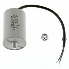 AnlaufKondensator MotorKondensator 30µF 450V 50x78mm Leitung M8 Miflex 30uF