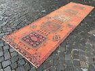 Runner rug, Turkish rug, Vintage rug, Handmade rug, Floor Rug | 3,2 x 10,6 ft