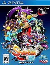 NEW Shantae: Half-Genie Hero Risky Beats Edition (Sony PlayStation Vita, 2016)