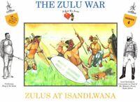 CALL TO ARMS ZULU WAR ZULUS AT ISANDLWANA 16 Plastic Figures 1/32 FREE SHIP