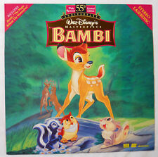 Walt Disney's Bambi Masterpiece 55th Anniversary Edition Laserdisc-9505 AS