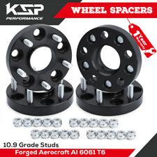 KSP 1'' Wheel Spacers Hubcentric 5x4.5 114.3MM 12X1.25 66.1MM For Infiniti 350Z