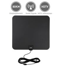 Digital DVB-T/ DVB-T2 Antenna TV Antenna Verstärker HDTV Fernseher Zimmerantenne
