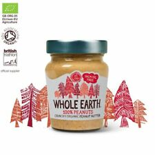 Whole Earth 100% Peanuts Smooth Organic Peanut Butter 227g