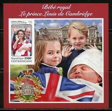 CENTRAL AFRICA 2018 BIRTH OF THE ROYAL BABY PRINCE LOUIS IMP  SOUVENIR SHEET  NH