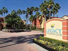 LEGACY VACATION CLUB 7-NIGHT 3 BED RENTAL SEP 29-OCT 6 ,2018   DISNEY WORLD