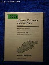 Sony Bedienungsanleitung CCD FX280E Video 8 Camera Recorder (#3001)