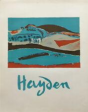 Henri Hayden poster paysage art abstrait Paris Varsovie Pologne P560