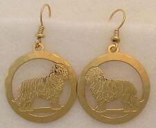 Komondor Jewelry Gold Dangle Earrings by Touchstone