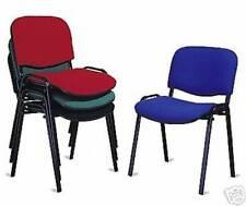 n. 2 Sedie poltrona attesa conferenza ufficio prodotto ITALIANO colore blu