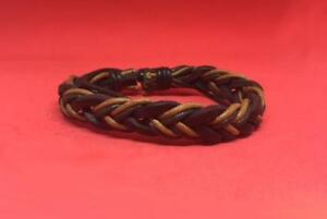 Western Cowgirl/Cowboy leather bracelet Fully Adjustable to any Size