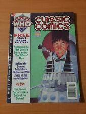 Doctor Who Classic Comics #11 ~ VERY FINE - NEAR MINT NM ~ 1993, Marvel Comics