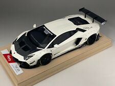 1/18 Lamborghini Aventador Liberty Walk LB Performance White  BBR or MR