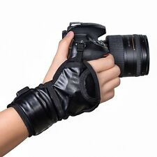Digital Camera Leather Hand Strap Wrist Belt Band for Nikon Canon Sony DSLR