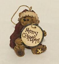 Boyds Bear Holiday Collection - Christmas Tree Ornament -Good Tidings #24575