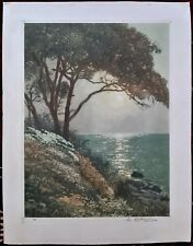 Arsene Chabanian (1864-1949) Armenian French, Original Signed Lithograph