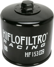 HifloFiltro Replacement Motorcycle Racing Oil Filter (Black) HF153RC