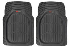 100% Odorless All-Weather Deep Dish Floor Mats for Front Seats - 2pc