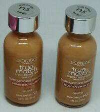2 L'OREAL True Match Super Blendable Makeup Foundation Neutral TRUE BEIGE N5